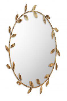 Foliage Metal Mirror