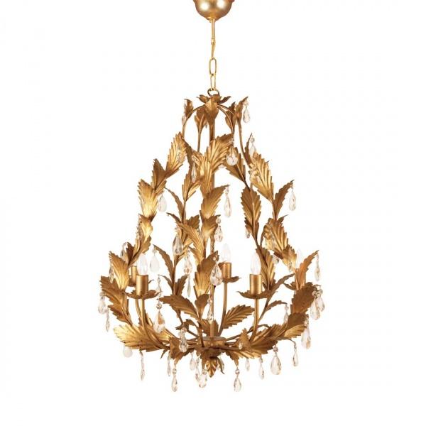 Villaverde london arabela metal chandelier 01