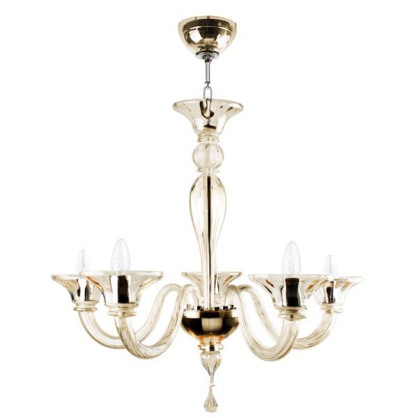 Villaverde london eleganza 5light murabno chandelier square new