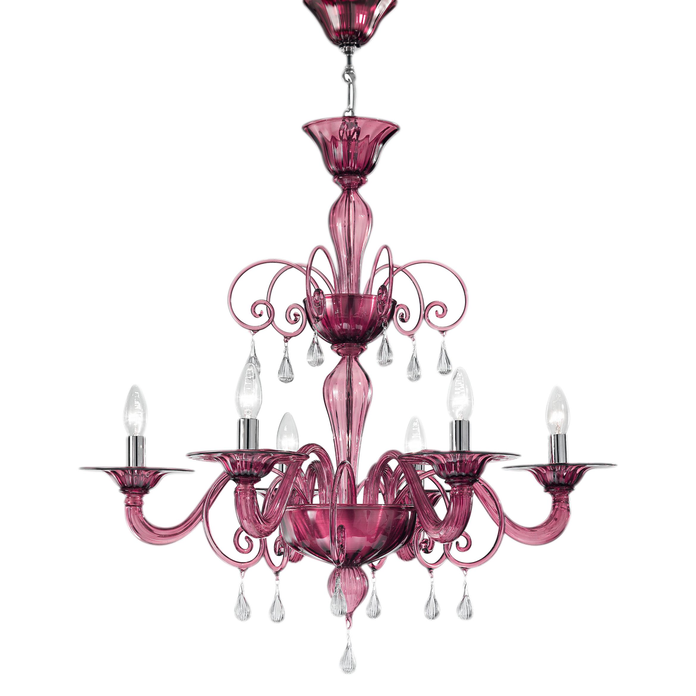 Jasmine villaverde london villaverde london jasmine amethyst murano chandelier square mozeypictures Gallery
