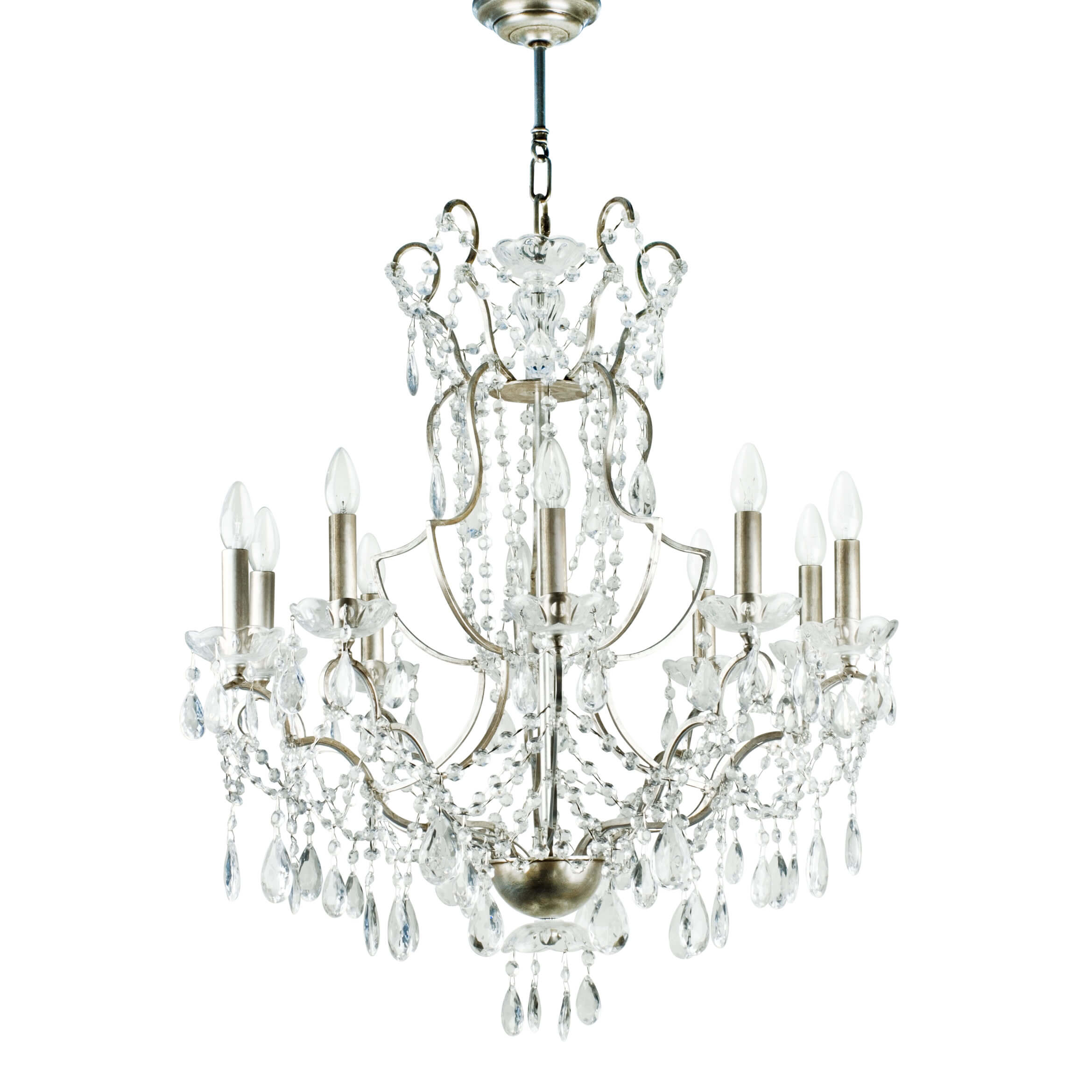 Lucienne villaverde london villaverde london lucienne metal chandelier square02 arubaitofo Gallery