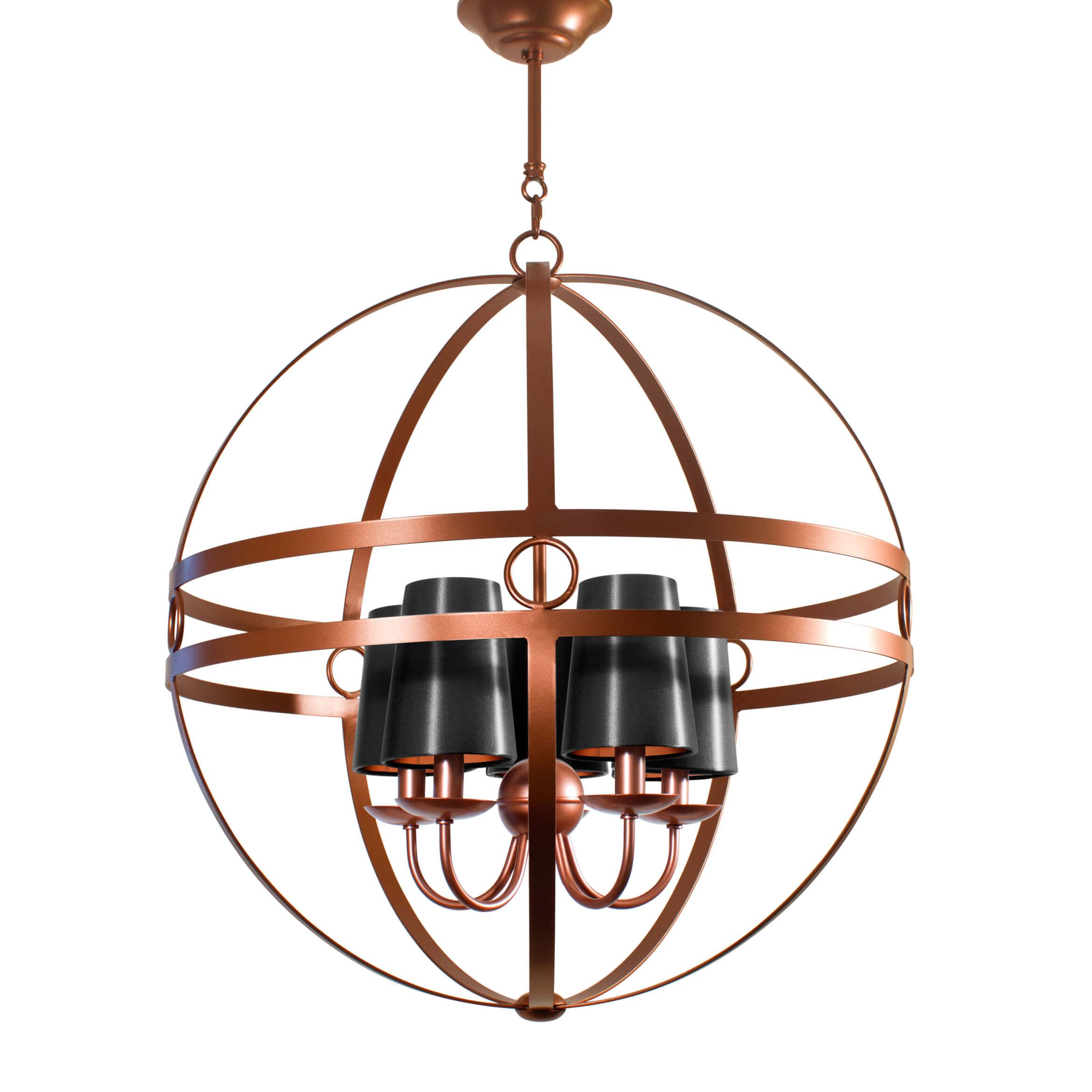 Mondo villaverde london villaverde london mondo copper metal chandelier square 1 arubaitofo Images