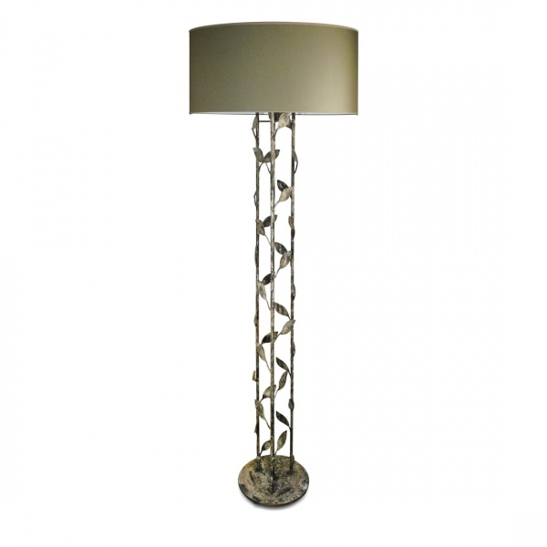 Metal floor lamps villaverde london villaverde london foliage metal floor lamp 2 mozeypictures Images