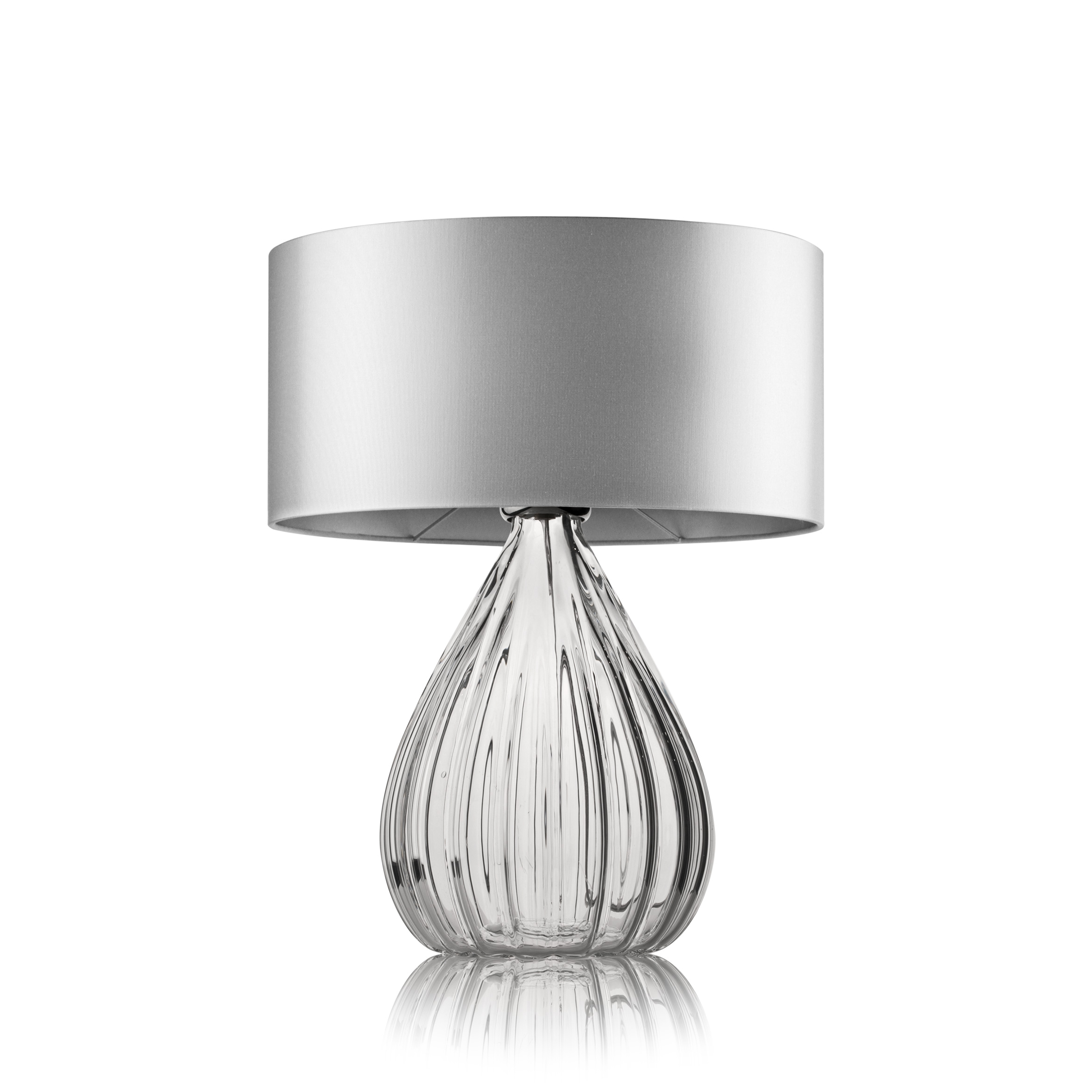 Gemma villaverde london villaverde london gemma murano table lamp clear square aloadofball Choice Image