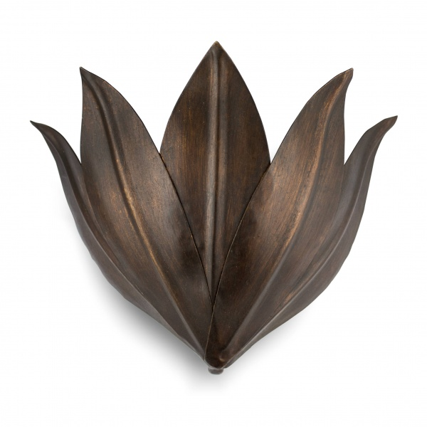 villaverde_london_ORCHID_3LEAVES_2light_metal_wall_light_square