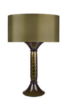 Dante-Table-Lamp—Bronze-Green-Olive-Silk-