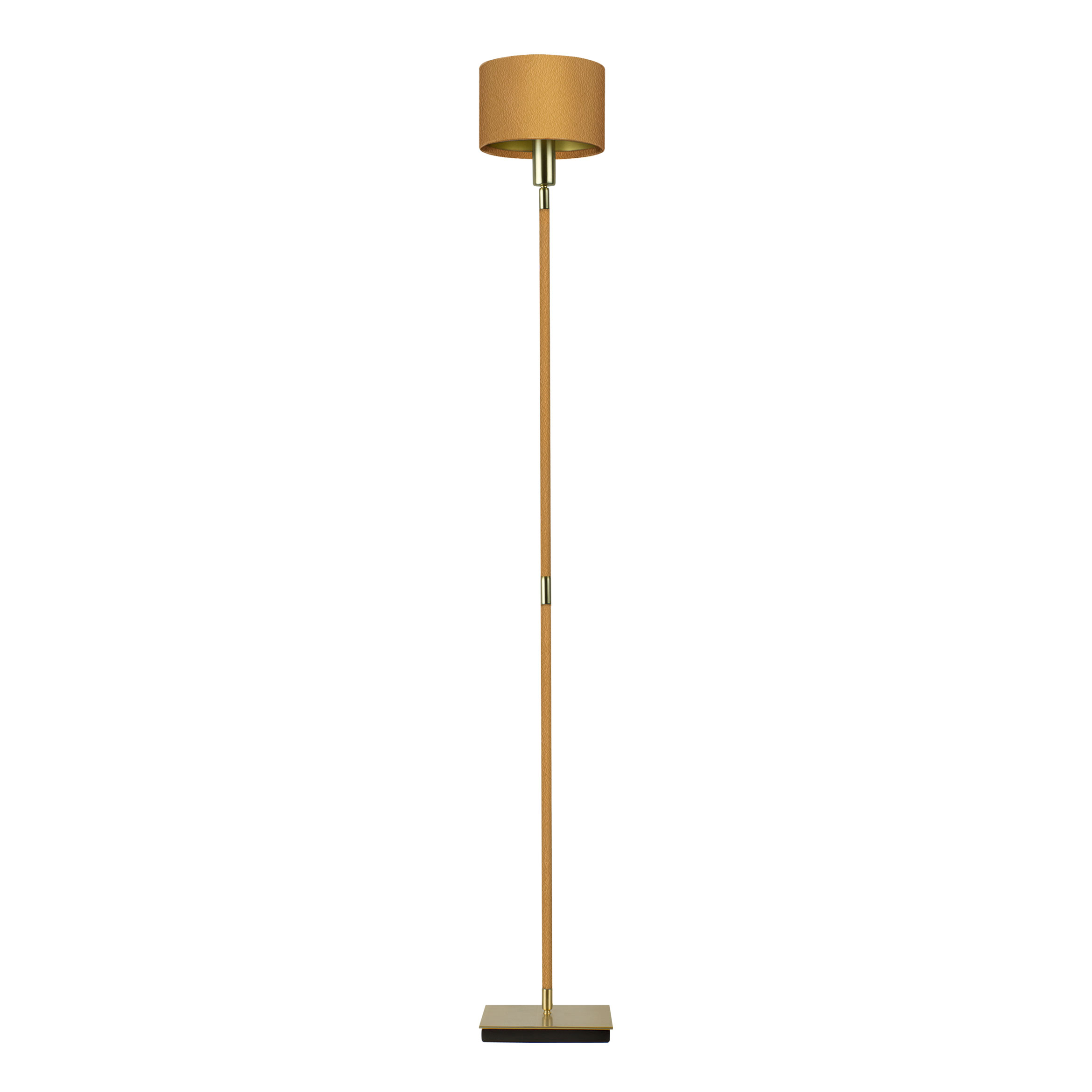 Linea villaverde london villaverde london linea metal leather floor lamp square aloadofball Image collections