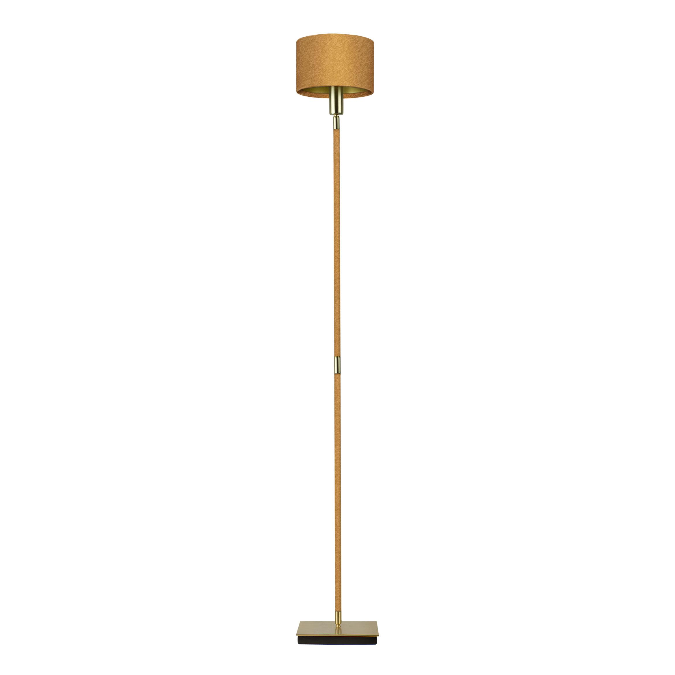 Linea villaverde london villaverde london linea metal leather floor lamp square aloadofball Images