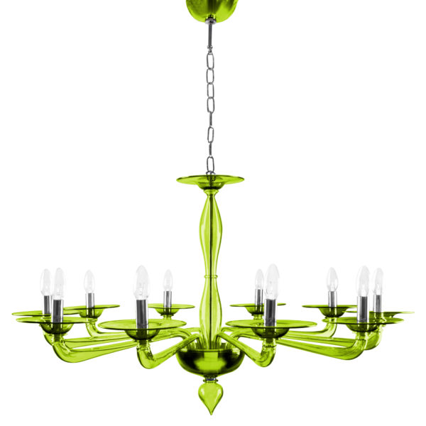 villaverde_luna_chandelier green