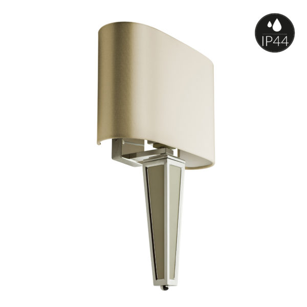villaverde-london-piramide-leather&metal-wall-light-ip44-square