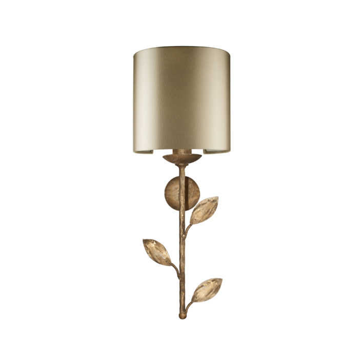 Foliage Short wall light 1 light Half Revolve shade W20