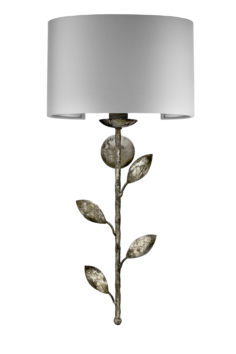 Foliage wall light 1 light Half Revolve shade W30cm