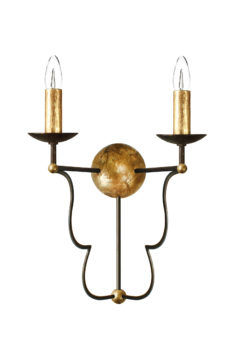 Villaverde-london-arezzo-wall-light-metal-lantern-square